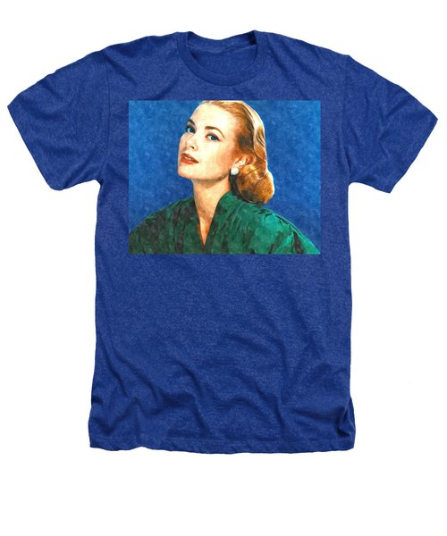 Grace Kelly Painting Heathers T-Shirt by Gianfranco Weiss