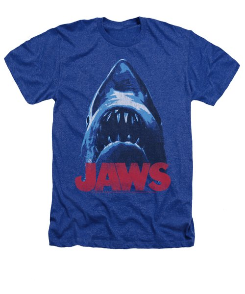 Jaws - From Below Heathers T-Shirt by Brand A