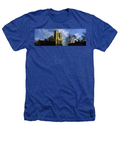 Low Angle View Of An Abbey, Westminster Heathers T-Shirt by Panoramic Images