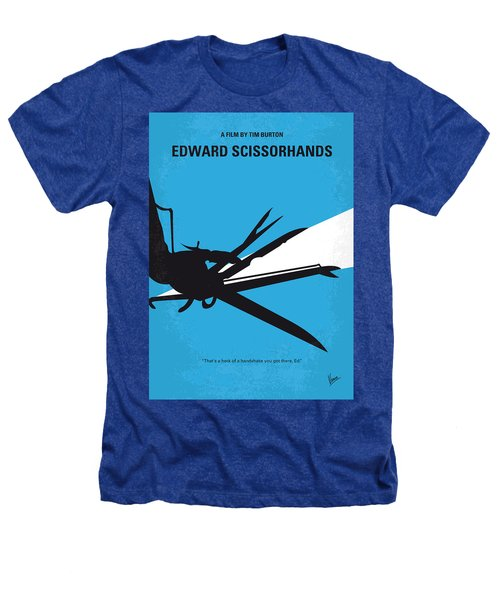 No260 My Scissorhands Minimal Movie Poster Heathers T-Shirt by Chungkong Art