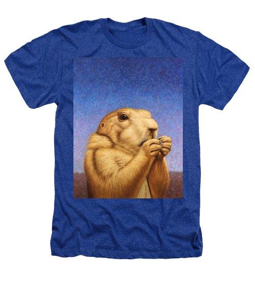Prairie Dog Heathers T-Shirt by James W Johnson