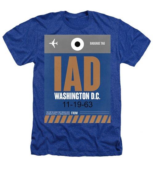 Washington D.c. Airport Poster 4 Heathers T-Shirt by Naxart Studio