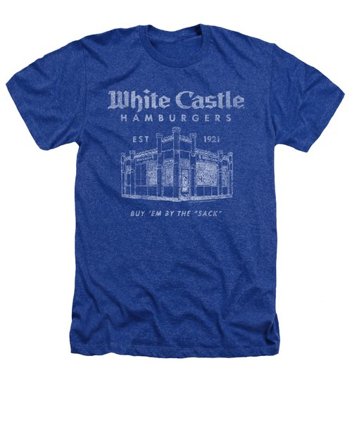 White Castle - By The Sack Heathers T-Shirt by Brand A