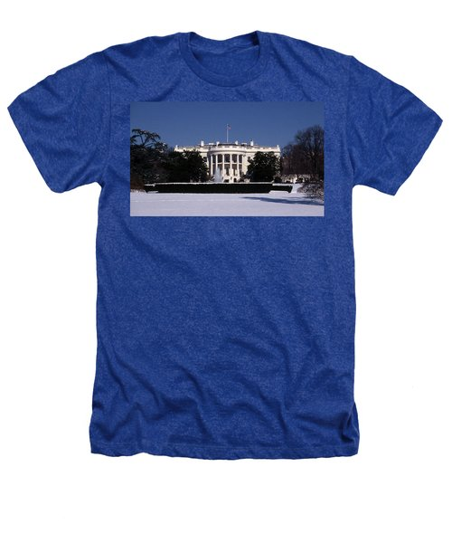 Winter White House  Heathers T-Shirt by Skip Willits