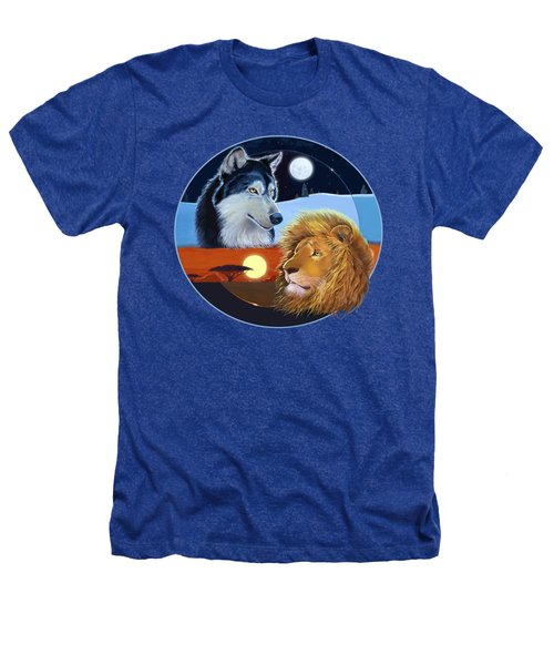 Celestial Kings Circular Heathers T-Shirt by J L Meadows
