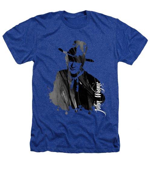 John Wayne Collection Heathers T-Shirt by Marvin Blaine