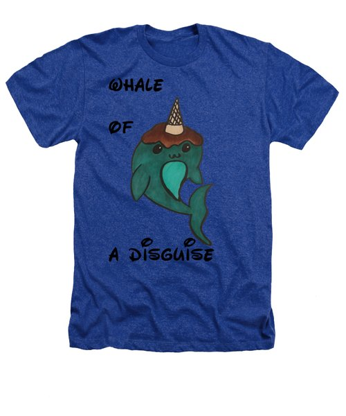 a Whale of a disguise Heathers T-Shirt by Darci Smith