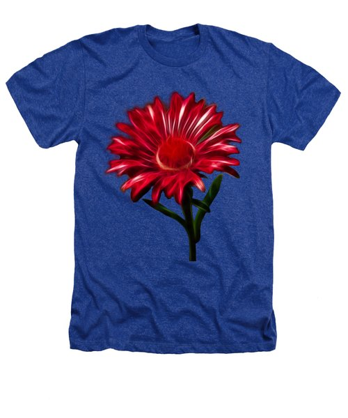 Red Daisy Heathers T-Shirt by Shane Bechler