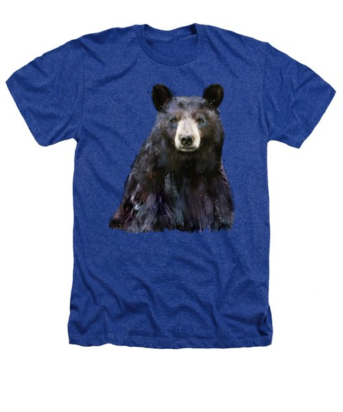 Black Bear Heathers T-Shirt by Amy Hamilton