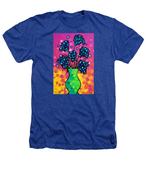 Colorful Flower Bouquet By Sharon Cummings Heathers T-Shirt by Sharon Cummings