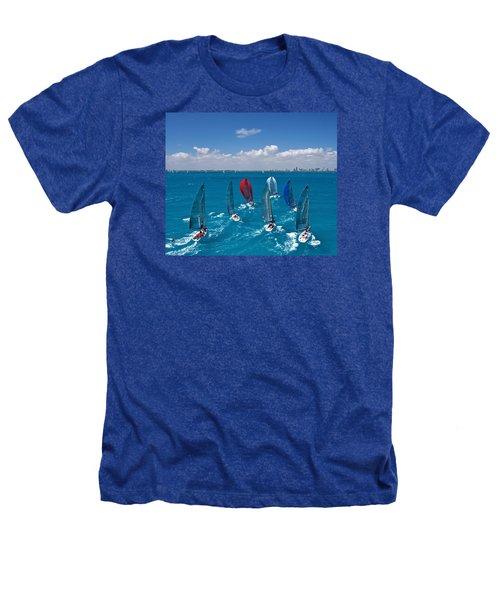 Downwind To Miami Heathers T-Shirt by Steven Lapkin