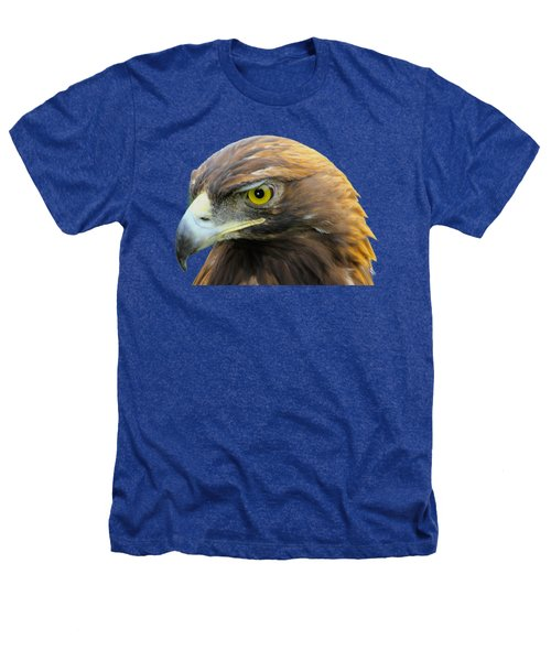 Golden Eagle Heathers T-Shirt by Shane Bechler