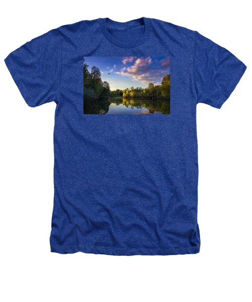 Hidden Light Heathers T-Shirt by Marvin Spates