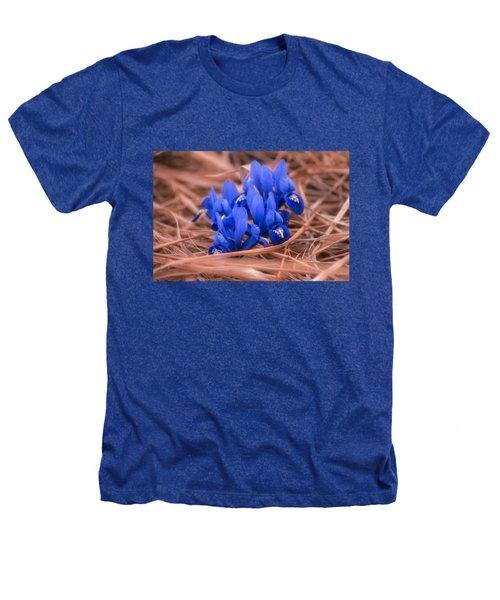 Irises Heathers T-Shirt by Konstantin Sevostyanov