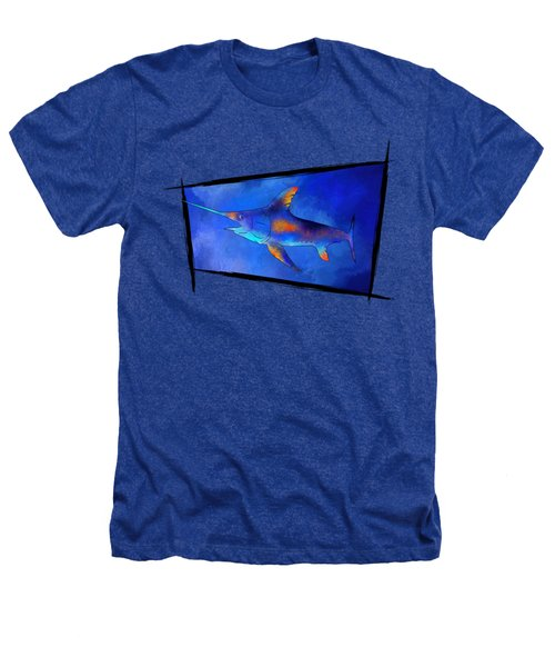 Kauderon V1 - Beautiful Swordfish Heathers T-Shirt by Cersatti