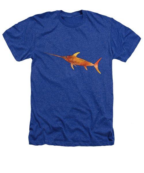 Kessonius V1 - Amazing Swordfish Heathers T-Shirt by Cersatti