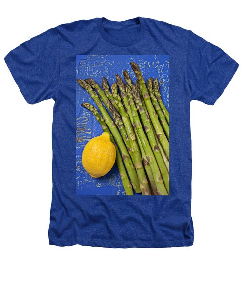 Lemon And Asparagus  Heathers T-Shirt by Garry Gay