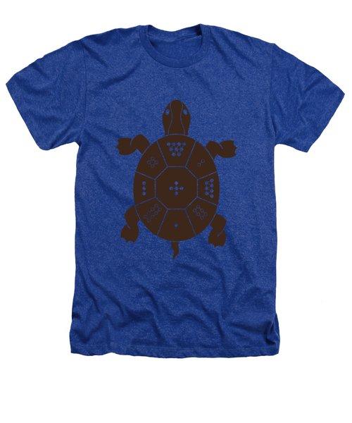 Lo Shu Turtle Heathers T-Shirt by Thoth Adan