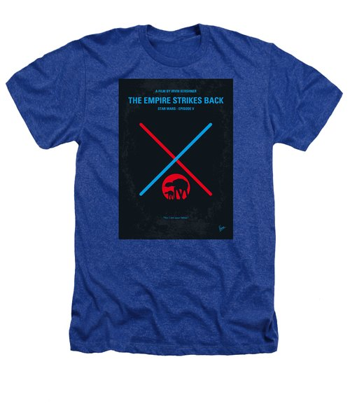No155 My Star Wars Episode V The Empire Strikes Back Minimal Movie Poster Heathers T-Shirt by Chungkong Art