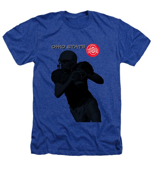 Ohio State Football Heathers T-Shirt by David Dehner
