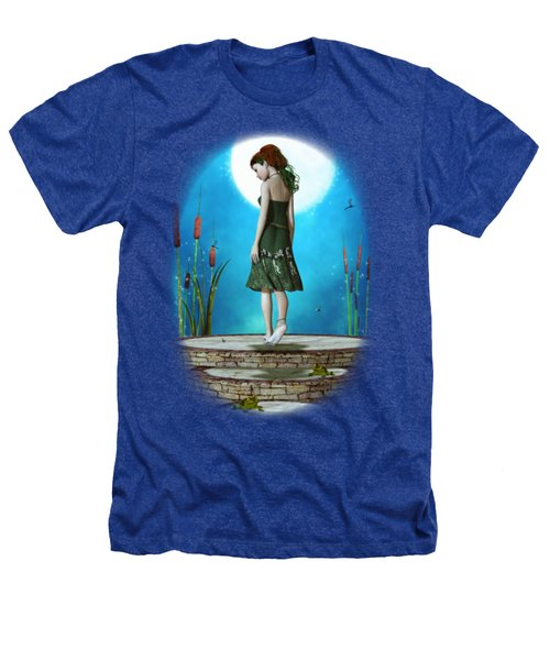 Pond Of Dreams Heathers T-Shirt by Brandy Thomas