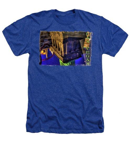 Statue Of Liberty Las Vegas Reflections Heathers T-Shirt by Roger Passman