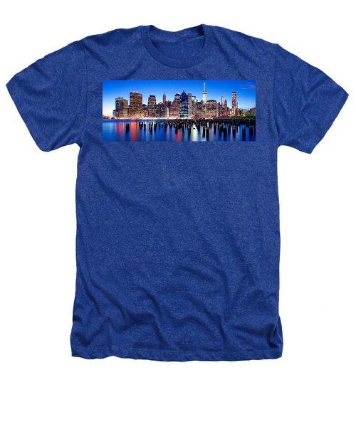 Magic Manhattan Heathers T-Shirt by Az Jackson