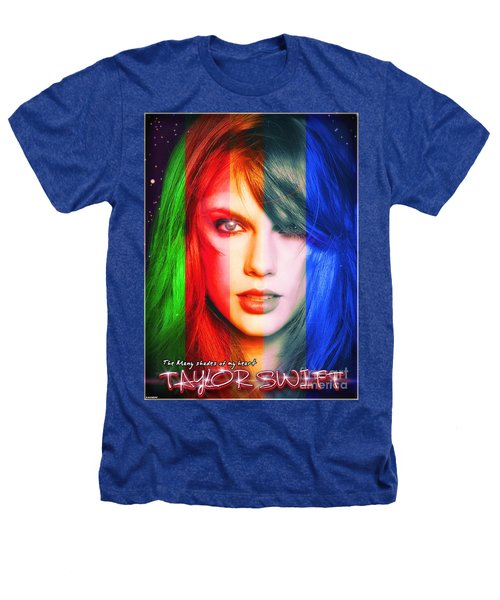 Taylor Swift - Sparks Alt Version Heathers T-Shirt by Robert Radmore