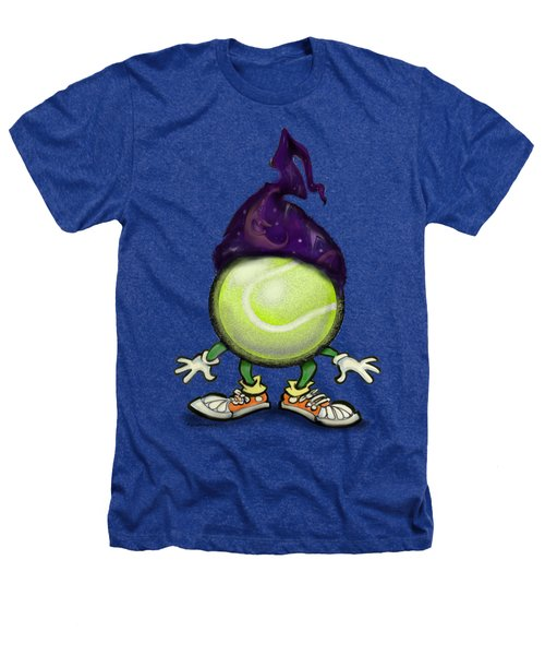 Tennis Wiz Heathers T-Shirt by Kevin Middleton