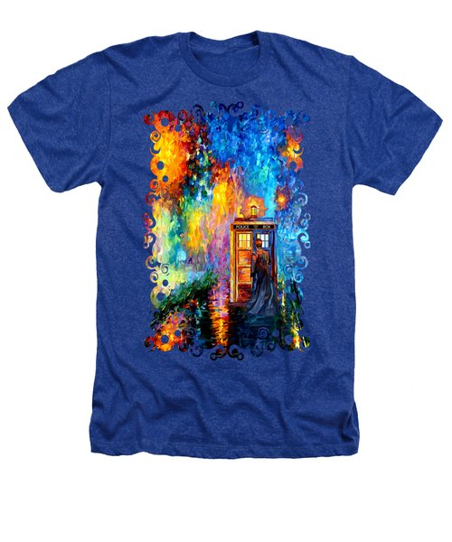 The Doctor Lost In Strange Town Heathers T-Shirt by Three Second