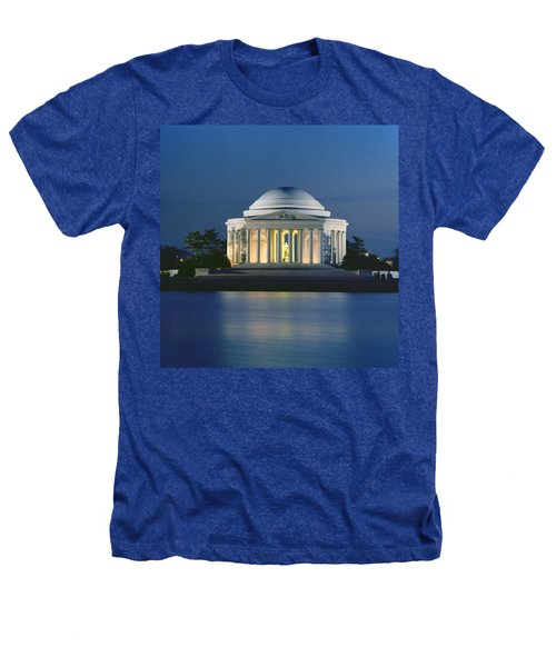 The Jefferson Memorial Heathers T-Shirt by Peter Newark American Pictures