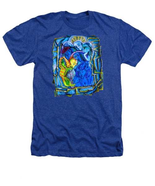 Yeti And The Mermaid Series I Don't You See? Heathers T-Shirt by Joanna Whitney