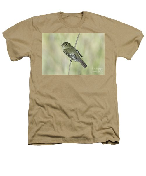 Acadian Flycatcher Heathers T-Shirt by Anthony Mercieca