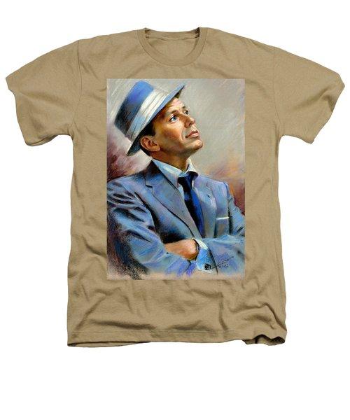 Frank Sinatra  Heathers T-Shirt by Ylli Haruni