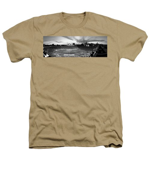 Soldier Field Football, Chicago Heathers T-Shirt by Panoramic Images