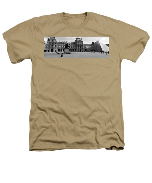 Tourists In The Courtyard Of A Museum Heathers T-Shirt by Panoramic Images