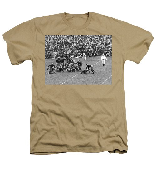 Notre Dame-army Football Game Heathers T-Shirt by Underwood Archives