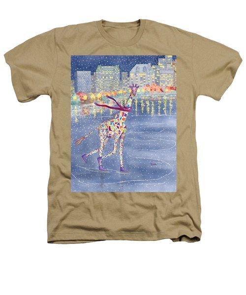 Annabelle On Ice Heathers T-Shirt by Rhonda Leonard