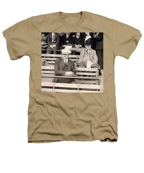 Babe Ruth In The Stands At Griffith Stadium 1922 Heathers T-Shirt by Mountain Dreams
