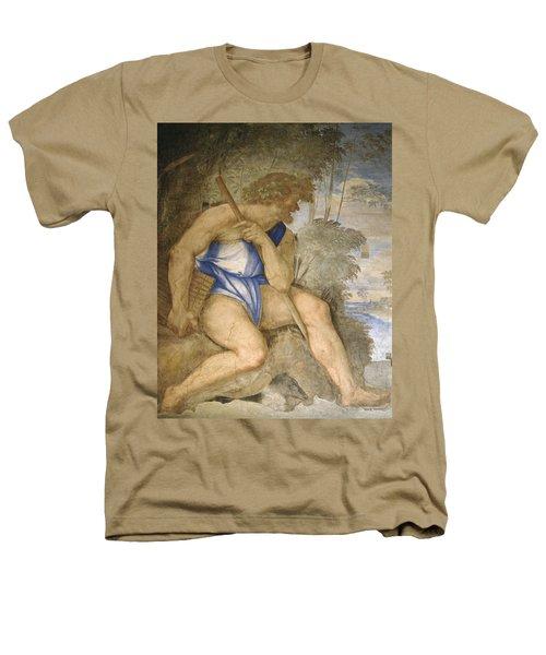Baldassare Peruzzi 1481-1536. Italian Architect And Painter. Villa Farnesina. Polyphemus. Rome Heathers T-Shirt by Baldassarre Peruzzi