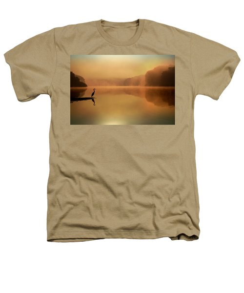 Beside Still Waters Heathers T-Shirt by Rob Blair