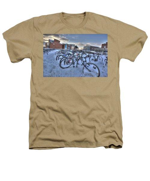 Bikes At University Of Minnesota  Heathers T-Shirt by Amanda Stadther