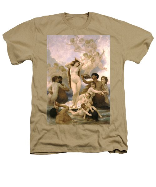 Birth Of Venus Heathers T-Shirt by William Bouguereau