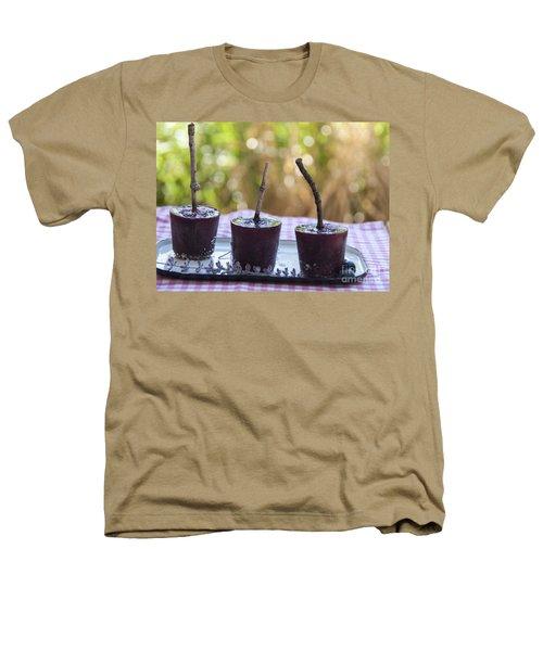 Blueberry Ice Pops Heathers T-Shirt by Juli Scalzi