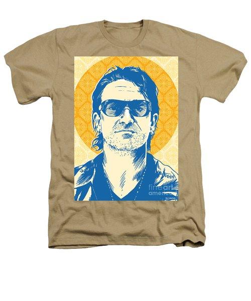 Bono Pop Art Heathers T-Shirt by Jim Zahniser