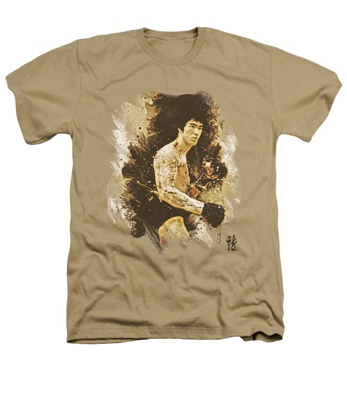 Bruce Lee - Intensity Heathers T-Shirt by Brand A