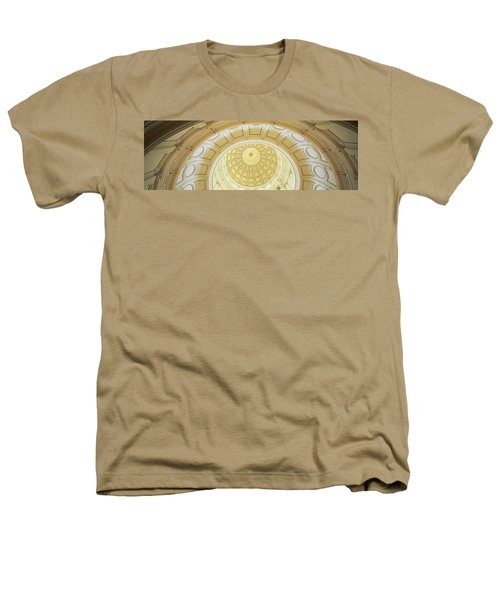 Ceiling Of The Dome Of The Texas State Heathers T-Shirt by Panoramic Images
