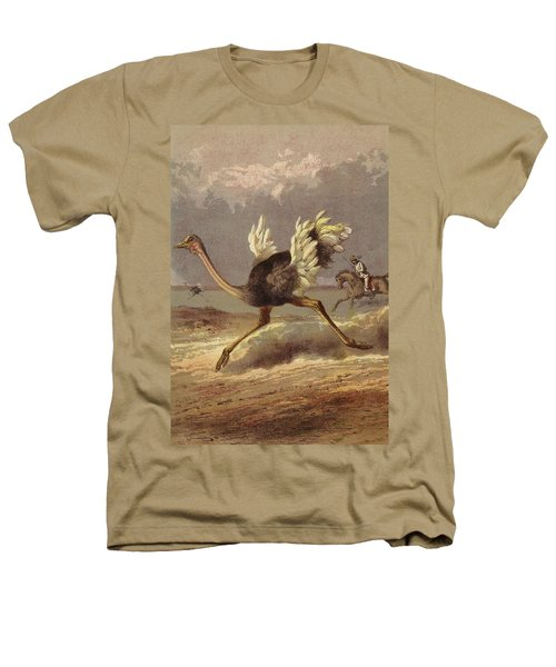 Chasing The Ostrich Heathers T-Shirt by English School