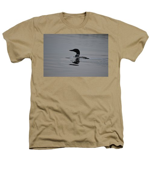Common Loon Heathers T-Shirt by James Petersen