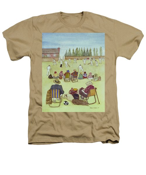 Cricket On The Green, 1987 Watercolour On Paper Heathers T-Shirt by Gillian Lawson
